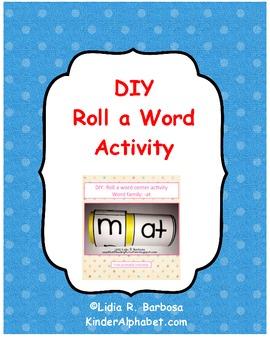 DIY Roll a Word Activity