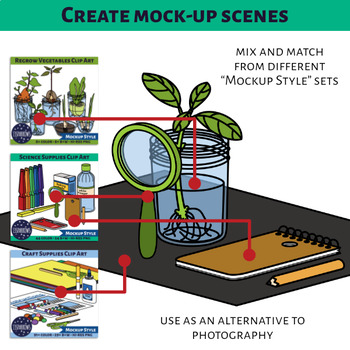 DIY Science Supplies Clip Art