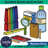 DIY Science Supplies Clip Art