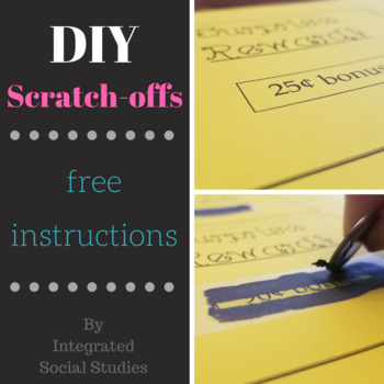 DIY Scratch-off Instructions