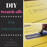 DIY Scratch-off Instructions