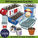 DIY Seedlings Clip Art