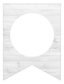 DIY Shiplap Banner {Editable}