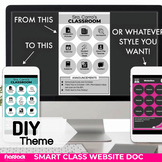 DIY Smart Class Website Doc (Google Slides Style!)