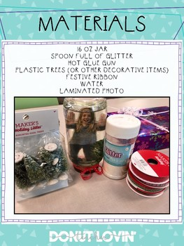 DIY Snowglobe Instructions
