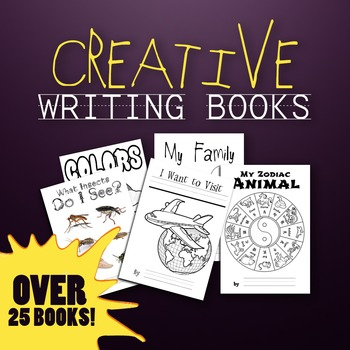 Theme/Topic Creative Writing Books - (25+) House, Body, and MANY MORE!