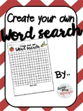 DIY Word Search