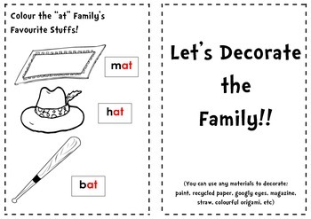 "DIY ""at"" Family Booklet"