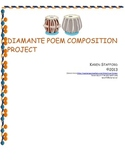 DIamante Poem Music Composition Project