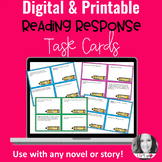 Digital Reading Response Task Cards