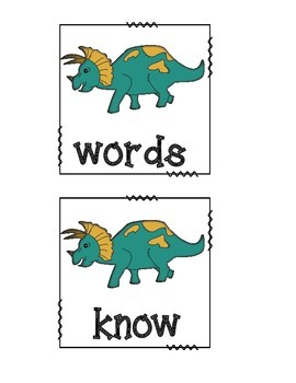 Dino Literacy/Math Pack