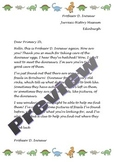 DInosaur Fossil Letter