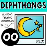 OO Diphthongs Phonics Word Work Printables