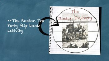 Disagreements Between Colonists and British Grow Interactive Notebook