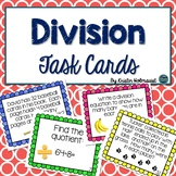 Division Task Cards - 3rd Grade