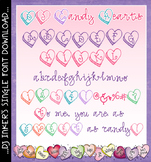 DJ Candy Hearts Font Download