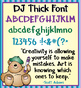 DJ Cool Fonts Collection