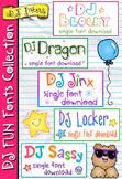 DJ Fun Fonts Collection