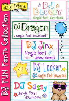 DJ Fun Fonts Collection