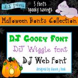 DJ Halloween Fonts Collection