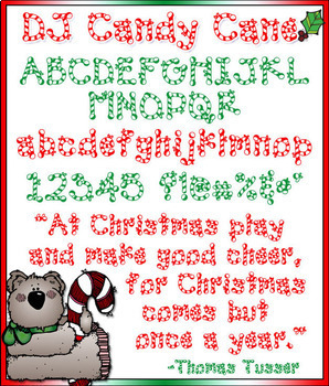 DJ Holiday Fonts Collection