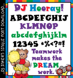 DJ Hooray Font Download