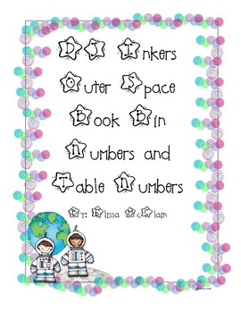 DJ Inkers Outer Space Book Bin and Table Numbers