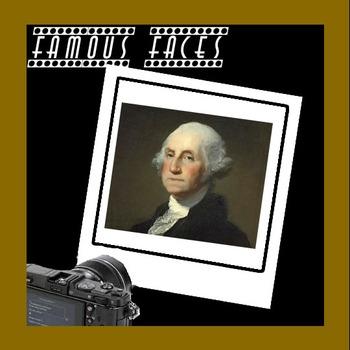 Connect The Dots - Famous Faces - George Washington