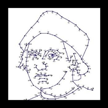 Connect The Dots - Famous Faces - Christopher Columbus