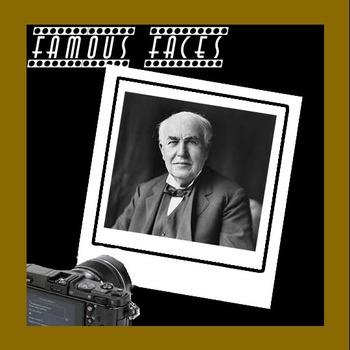 Connect The Dots - Famous Faces - Thomas Edison