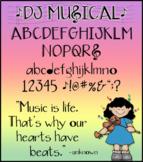 DJ Musical Font Download
