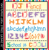 DJ Pencil Font Download