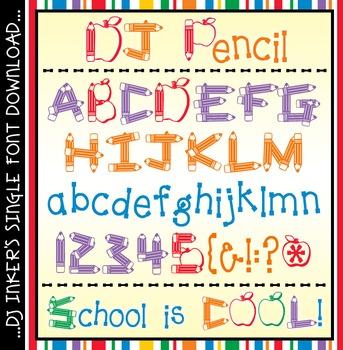 DJ Pencil Font Download