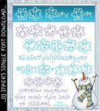 DJ Snow Dot Font Download