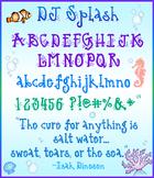 DJ Splash Font Download