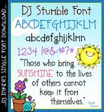 DJ Stumble Font Download