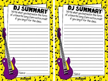 DJ Summary