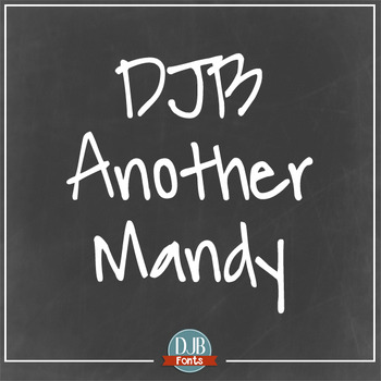 DJB Another Mandy: Personal Use