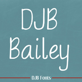DJB Bailey Font: Personal Use