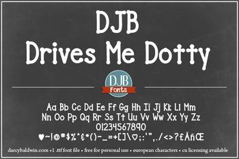 DJB Drives Me Dotty - Personal Use