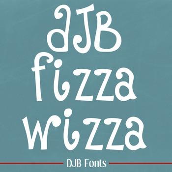 DJB Fizza Wizza Wowza Font - Personal Use