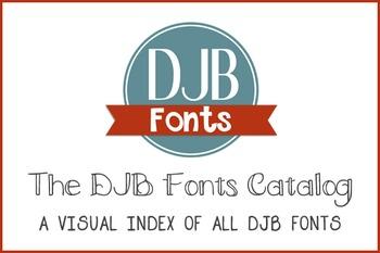 DJB Fonts Catalog