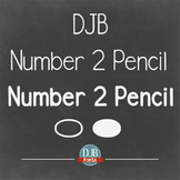 DJB Number 2 Pencil Fonts - Personal Use