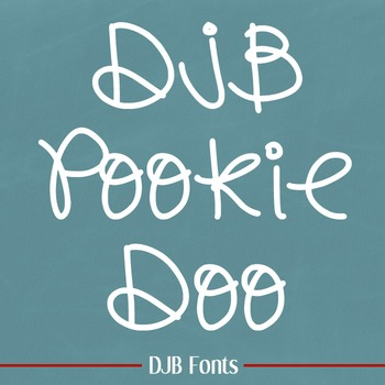 DJB PookieDoo Font - Personal Use