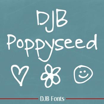 DJB Poppyseed Font - Personal Use