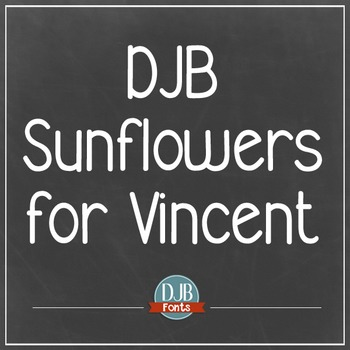 DJB Sunflowers for Vincent - Personal Use