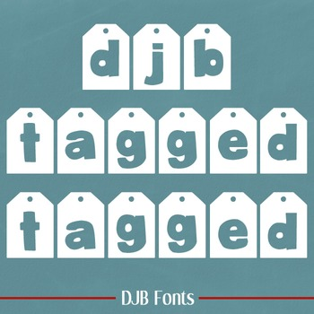 DJB Tagged Font - Personal Use