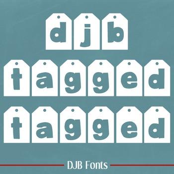 DJB Tagged Font - Personal Use