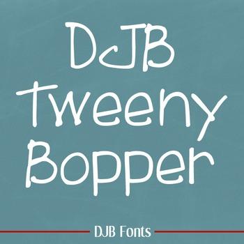 DJB Tweenybopper Font - Personal Use