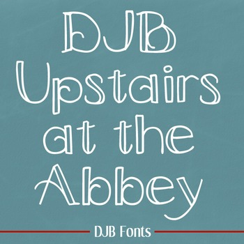 DJB Upstairs at the Abbey Font: Personal Use